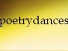 Poetry dances