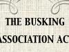 Busking Association Act