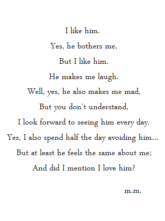 yes i love you poem