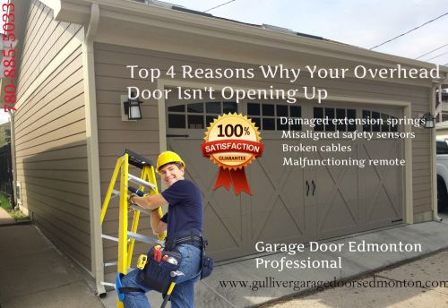 Top 4 reasons why your overhead door isn the online writing community - Reasons inspect garage door ...
