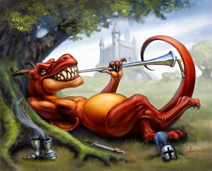 story of dragons treasure