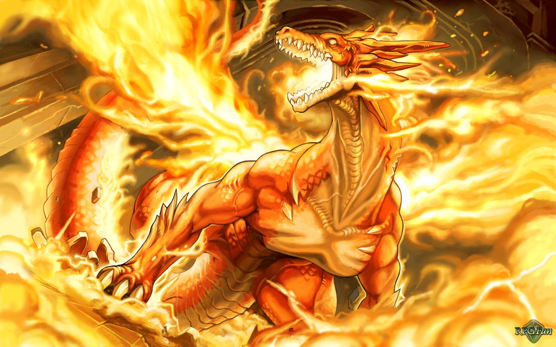miscellaneous fire dragon picture - photo #32