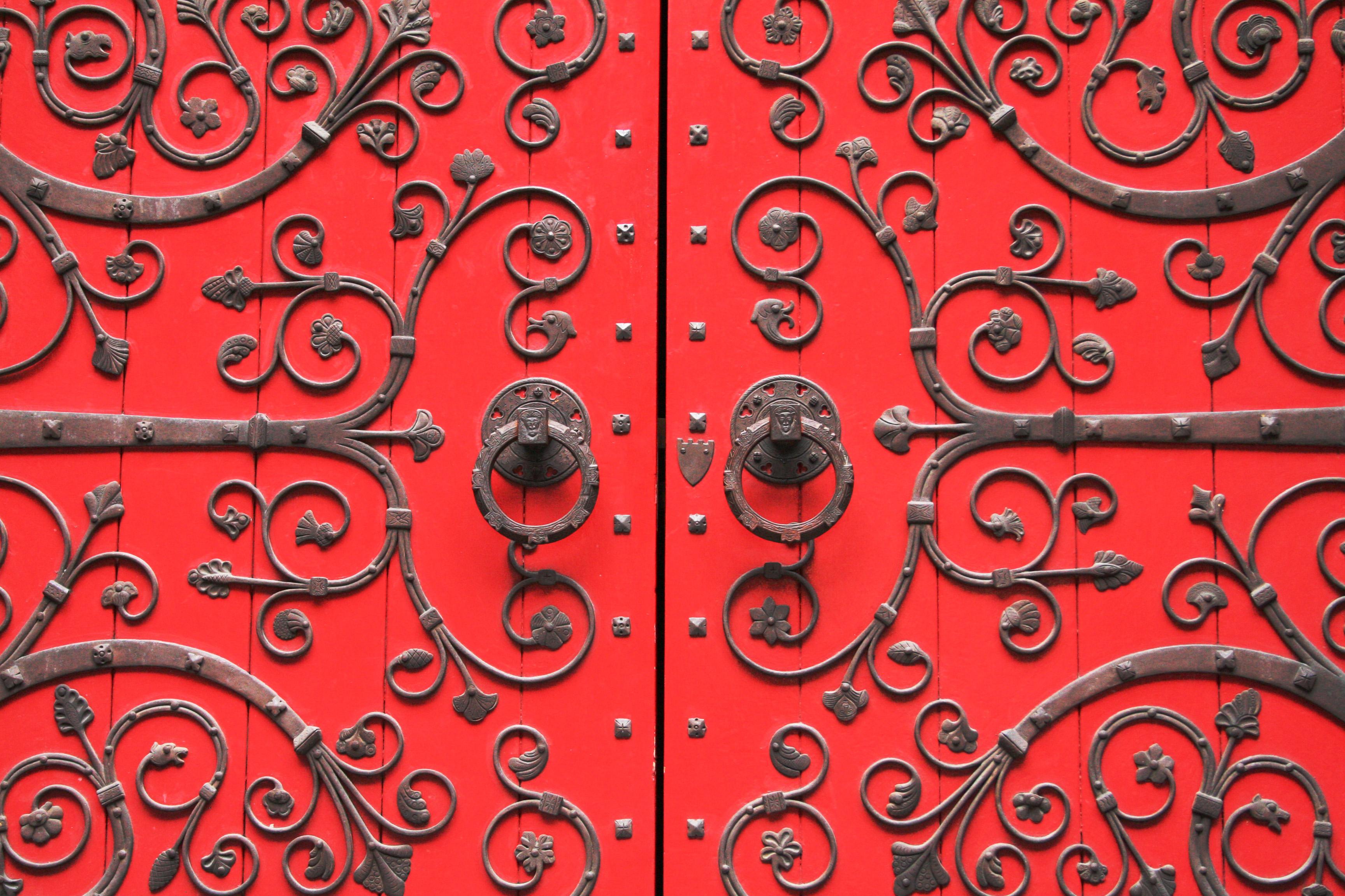 Behind The Crimson Door