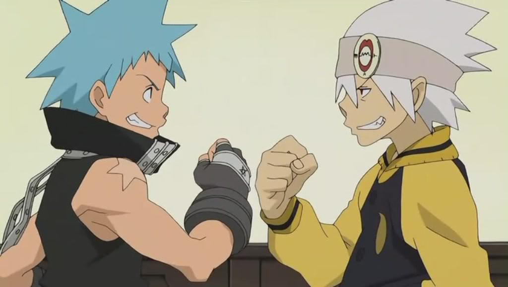 Anime Characters Using Fist : Black star and soul is there more to th writerscafe