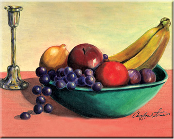 fruit bowl drawing figs fruit