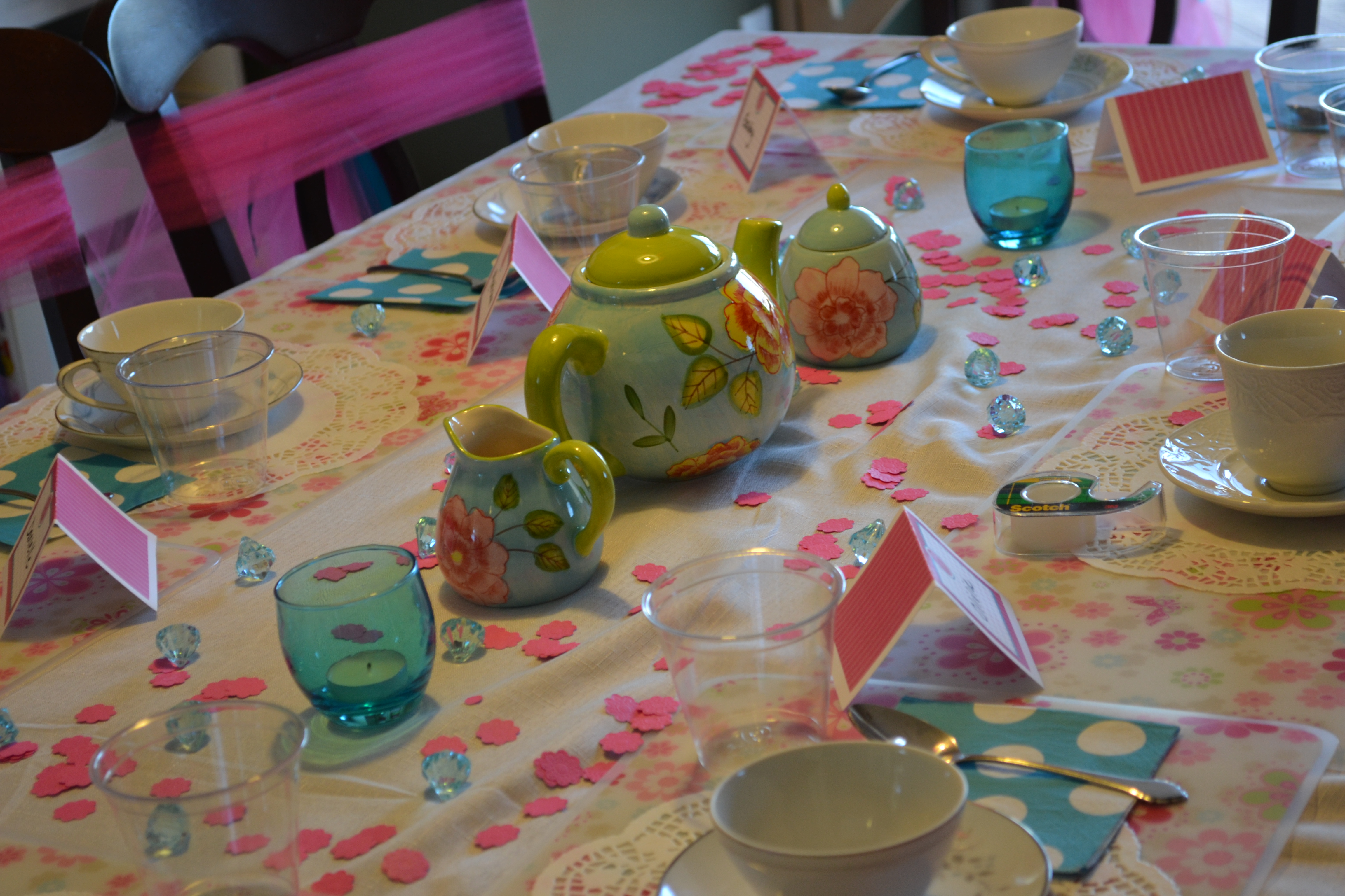 How Do You Set A Table For A Tea Party