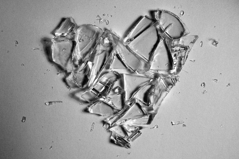 Shattered heart