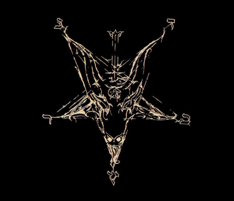satanic writing Before the almighty and ineffable god satan/lucifer and in the presence of all demons of hell, who are the true and the original gods, i, (state your full name .