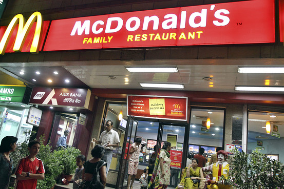 mc donald entry into india I dont think macdonald is failed in india it is very expensive comman man cannot afford it if family of four go and eat, their bill will be around rs1500 which is 10days salary for some ppl.