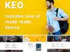 KEO - 16 in 1 Complex Multipurpose WordPress Theme Review