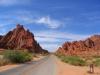 Barren Red Rocks
