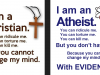 A Christian and an Atheist went for lunch