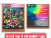 The first sale of my paintings and how it felt
