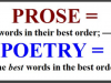 Prose with pretensions to be poetry