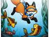 The Little Red Fox - Scuba Time