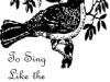 To Sing Like the Mockingbird
