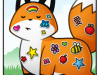 The Little Red Fox - Stickers